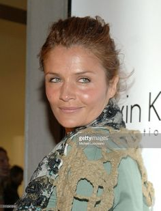 Helena Christensen during Calvin Klein, Inc. and Bryan Adams Host the Launch of His New Photography Book 'American Women' at The Calvin Klein Collection Store in New York City, New York, United States.