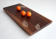 Love this wood plank cheeseboard.