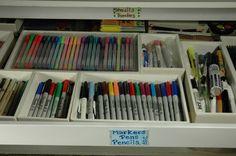 Make your own organizer trays