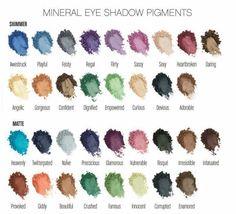 Moodstruck minerals pigment powders