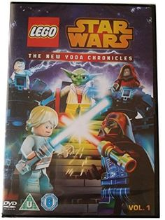 Lego Star Wars The NEW Yoda Chronicles - Two Complete Episodes - UK PAL