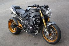 Yamaha R1 Turbo-Charged StreetFighter ~ Grease n Gasoline