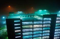 Photographs of American Urban Landscapes at Night – Fubiz Media
