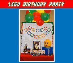 ewe hooo!: Jackson's LEGO Builders Birthday Party!