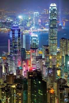 City Lights Hong Kong | Incredible Pictures