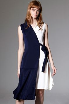 Bonnie Longline Wrap Sleeveless Dress Discover the latest fashion trends online at storets.com