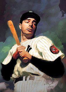 Joe DiMaggio by E.L. Vela