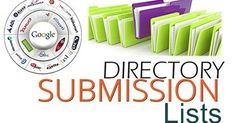 Directory Submission Lists