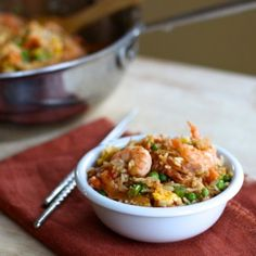 Shrimp Kimchi Fried Rice (gluten free, dairy free, soy free) – From ...
