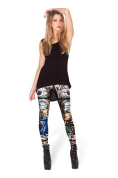 Cathedral Leggings › Black Milk Clothing