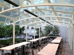 Behold, the newly opened back patio at Trou Normand. Photo: © tablehopper.com. Six New Restaurants with Outdoor Seating | 7x7