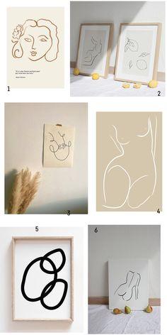 10 Biggest Wall Art Trends for 2019 - ART . Kunst Inspiration - Home Big Wall Art, Hanging Wall Art, Modern Wall Art, Framed Wall Art, Wall Art Decor, Simple Wall Art, Trending Art, Bathroom Wall Art, Abstract Wall Art