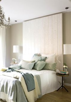 Diy Headboard Ideas Master Bedrooms, Home Hacks, Home Bedroom, Interior Deco, Furniture, Interior, Bedroom Decor, Home Decor, Home Deco