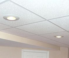 16 ceiling tile and lighting ideas