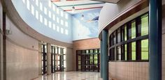 Whittier Elementary #electrical #acoustical #engineering #technology #lighting #design
