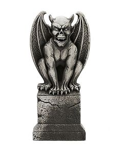 3 Ft Gargoyle Tombstone - Decorations - Spirithalloween.com