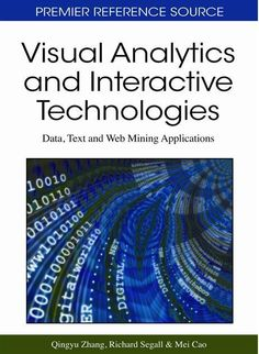 I'm selling Visual Analytics and Interactive Technologies: Data, Text and Web Mining Applications - $91.00 #onselz