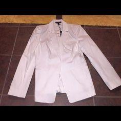BNWT EXPRESS WHITE BLAZER BNWT EXPRESS WHITE BLAZER. SIZE 10. WHITE Express Jackets & Coats Blazers