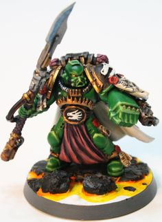 salamander conversions - Google Search Warhammer 40k Salamanders, Warhammer 40k Figures, Warhammer 40000, Miniaturas Warhammer 40k, Imperial Fist, Space Wolves, Space Marine, Tabletop Games, Conversation