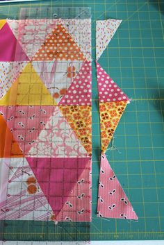 equilateral triangle quilt tutorial