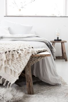 WIN a warm and cosy off-white rug from Danish homeware store Nordal on My Scandinavian Home blog this week! / photo - Niki Brantmark - MSH blog.