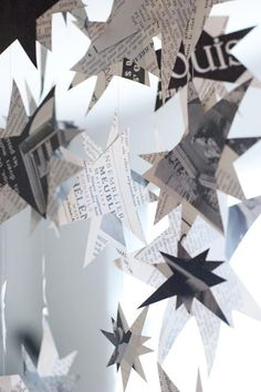 Want to make a mobile for the bedroom. Like these star clusters.