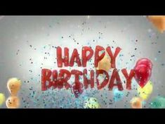 Happy Birthday To You - the world famous song in its original form. The Birthday melody that is known by millions of children and adults alike. Best Birthday Songs, Happy Birthday Song Youtube, Birthday Msg, Happy Birthday Greetings Friends, Birthday Wishes For Brother, Very Happy Birthday, Happy Birthday Cards, Birthday Quotes, Birthday Gifts