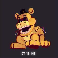 Fnaf Golden Freddy, Freddy S, Five Nights At Freddy's, Fnaf Photos, Horror, Fnaf 1, 6th Anniversary, Fnaf Characters, Fnaf Drawings