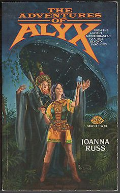 nice THE ADVENTURES OF ALYX by Joanna Russ (Paperback) Science Fiction - For Sale