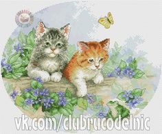 VK is the largest European social network with more than 100 million active users. Blackwork Embroidery, Baby Embroidery, Cross Stitch Embroidery, Embroidery Patterns, Cross Stitch Animals, Cross Stitch Flowers, Cat Cross Stitches, Cross Stitch Patterns, Plastic Canvas Patterns