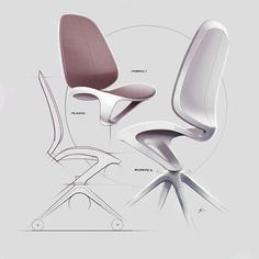 Took one of those office chairs from last week and rendered it out. I might take this one into as well, just to test my surfacing skills 😅 We'll see. Modular Furniture, Types Of Furniture, Steel Furniture, Retro Furniture, Furniture Showroom, Unique Furniture, Luxury Furniture, Furniture Design, Furniture Sketches