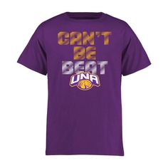 North Alabama Lions Youth Can't Be Beat T-Shirt - Purple - $17.99