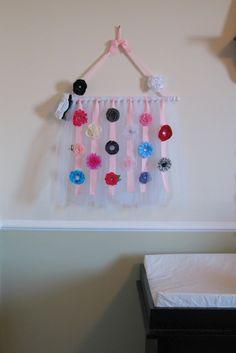 diy hair clip holder | hair Clip and Bow Holder | DIY/Crafts