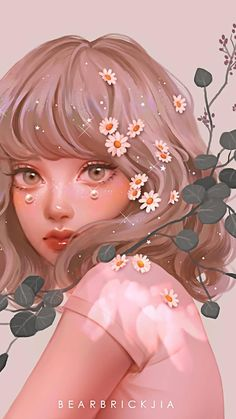 Anime Art Girl, Anime Girl Cute, Japon Illustration, Cartoon Art Styles, Digital Art Girl, Kawaii Wallpaper, Cute Cartoon Wallpapers, Kawaii Art, Girl Cartoon