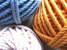 Cuerdas de algodón torcido de 6mm de grosor