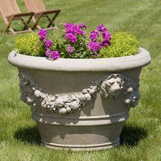 Morris Lion Pot Garden Planter