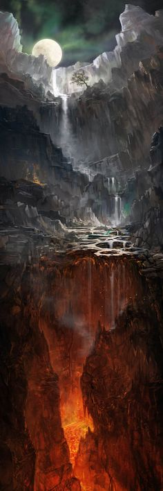 "Grim Reaper:  The #Underworld ""Great Chasm,"" by jbrown67, at deviantART."