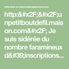http://unpetitboutdefil.maison.com/ Je suis sidérée du nombre faramineux d'inscriptions... -
