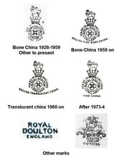 Royal Daulton markings....  Love Royal Daulton china!