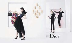 Anna Martynova, Daiane Conterato, Daria Strokous, Marie Piovesan, Nicole Pollardby Willy Vanderperre for Dior Spring 2013