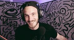 Pewdiepie! The only word that comes to mind when I see him is Sarcasm. Lol. Jk but he does do quite a bit of sarcasm In his videos it's either that or jokes idk. Lol jk again. He is also one of the sweetest guys on the internet. He cares about his fans and is not just in it for the money and fame youtube offers. He genuinely cares about each and everyone of us. Thank you Fel...I mean Pewdiepie ♥️