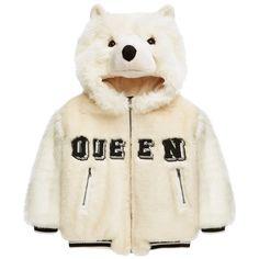 Mini Me false fur jacket