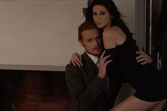 Behind the scenes of the steamy emmy magazine cover shoot with Caitriona Balfe and Sam Heughan....