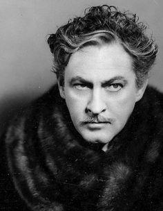 John Barrymore, 1934 via factoseintolerant