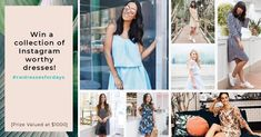 Sign up for a chance to win up to $1000 in dresses!