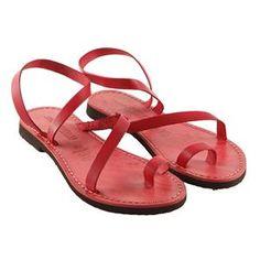 Sandalo amore rosso da donna n. 37