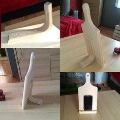 homemade kitchen stand for smartphone/tablet kuchenny stojak na smartphone/tablet