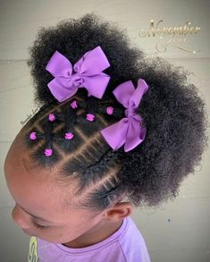 Black Baby Girl Hairstyles, Little Girls Natural Hairstyles, Toddler Braided Hairstyles, Kids Curly Hairstyles, Black Children Hairstyles, Mixed Baby Hairstyles, Toddler Braids, Childrens Hairstyles, Princess Hairstyles
