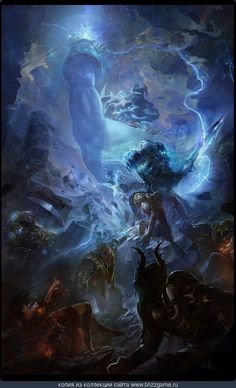Thunder King by David Zhou » Галерея » World of Warcraft
