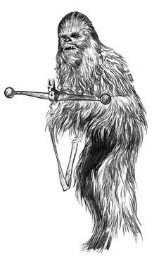 Star Wars - Chewbecca by Jason Palmer
